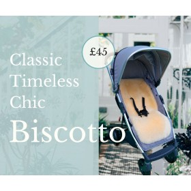 NEW! Biscotto Luxury Lambskin Pram Liners.