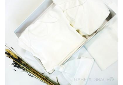 Organic Cotton Baby Essentials Set 0-3 months, 8 Pieces.