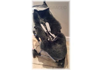 Quinny Zapp Xtra 2 Style (OVERSIZED) Luxury Lambskin Pram Liner. Colour choices