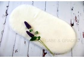 Perla Shorn Luxury Lambskin Pram Liner. PRE-ORDER DUE IN MID FEB