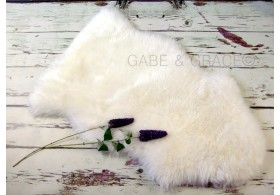 Perla Luxury Lambskin Baby Rug. (Midi Wool Pile) ~PERFECT FOR NEWBORN PICS. PRE-ORDER DUE IN MID FEB