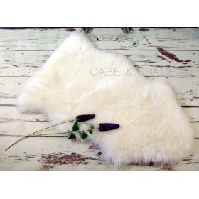 Perla Luxury Lambskin Baby Rug. (Midi Wool Pile) ~PERFECT FOR NEWBORN PICS.