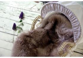 Mink Midi Luxury Lambskin Baby Comforter.