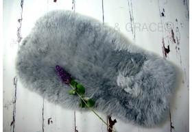 NEW! Bugaboo Style Platinum Gray Luxury Lambskin Pram Liner
