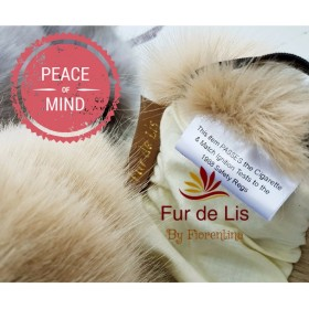 Fur de Lis Lapelle™, Faux Fur Pram Hood Trim For Bugaboo, Icandy, Stokke, Silver Cross and More. SOFT KASHA. Includes UK P&P.