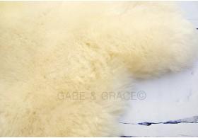 Avorio Luxury Lambskin Baby Rug