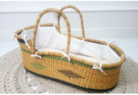 Luxury Natural Handwoven Moses Baskets