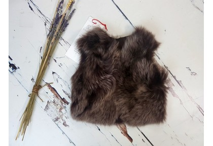Infant Shearling Gilet (Chestnut)
