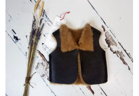 Infant Shearling Gilets
