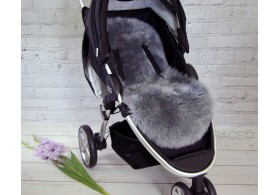 Luxury Lambskin Pram Liner. Midi. Colour choices