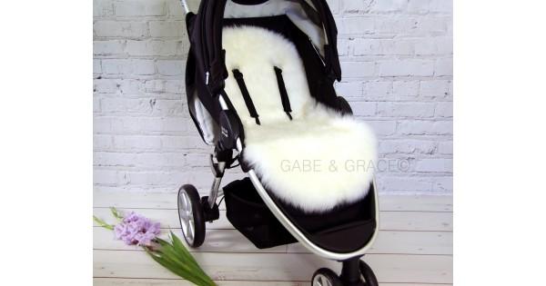 Luxury Lambskin Pram Liners Shorn Wool