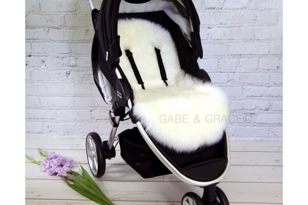 Luxury Lambskin Pram Liners (Shorn Wool) (8)