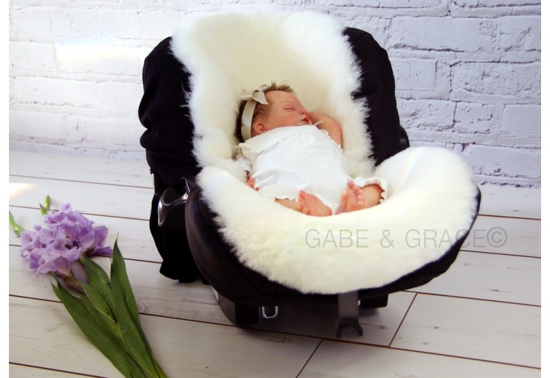 perla shorn luxury lambskin pram liner. Black Bedroom Furniture Sets. Home Design Ideas