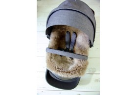 Stokke Style Luxury Sheepskin Pram Lining. NEW COLOURS!