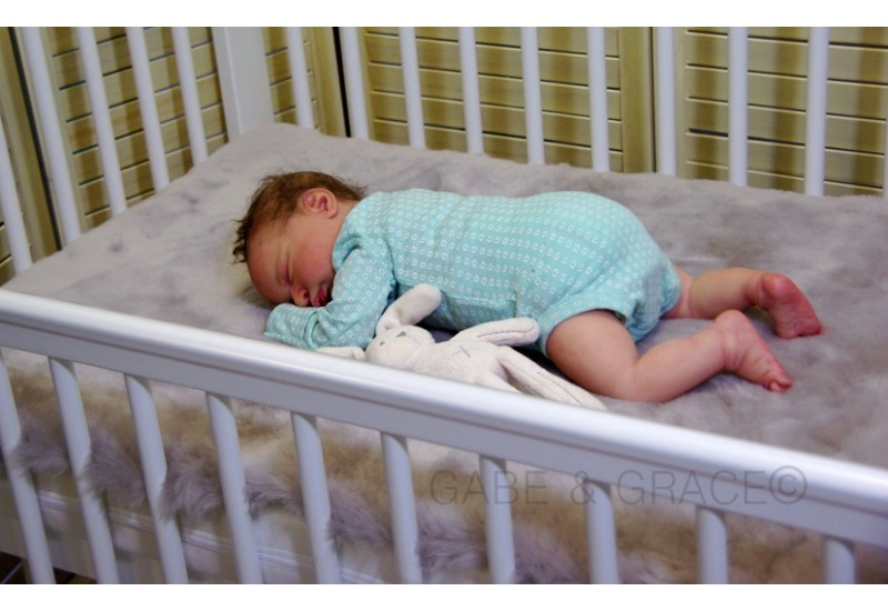 Luxury Lambskin Cot Bed Topper Liner 120cm X 60cm