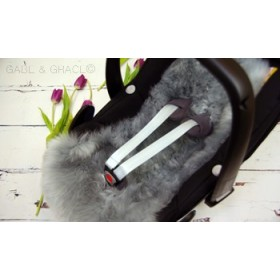 Maxi Cosi Style Lambskin Car Seat Liner PLUS FREE Matching Harness Covers. Colour choices.