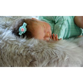 Sterling Grey MIDI Luxury Lambskin Baby Rug