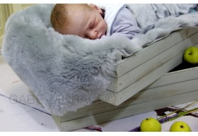 Luxury SHORT WOOL Lambskin Baby Rugs