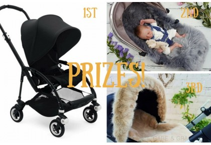 Launch Raffle #01 TICKET TO WIN A BUGABOO BEE 5 IN ALL BLACK RRP£639